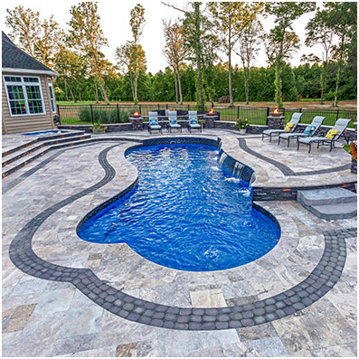 The Eclipse - Fiberglass Inground Swimming Pools
