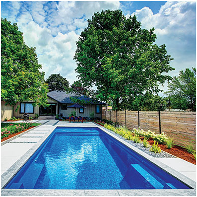 The Pinnacle - Fiberglass Inground Swimming Pools