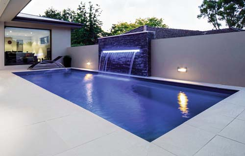 Fiberglass Pool Design Leisure Pools Reflection